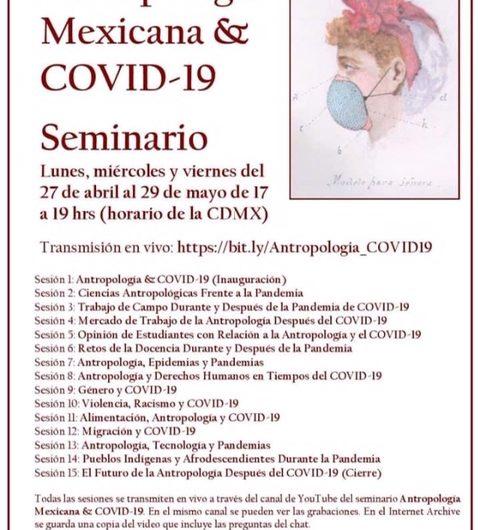 Antropologia en temps de Covid-19